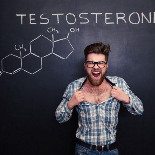 Männerbrust durch Testosteronmangel